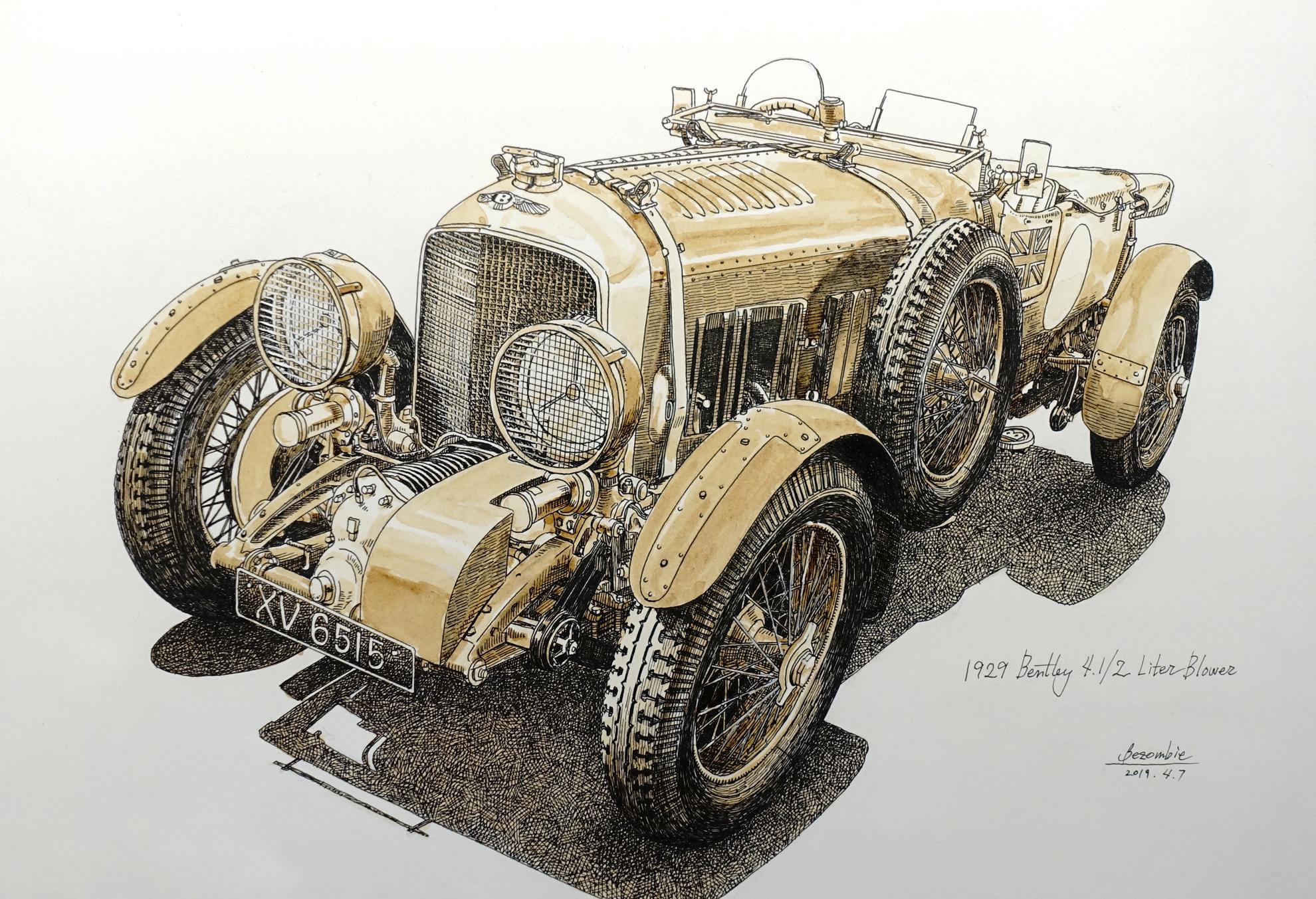 Bentley 4.1/2Liter Blower