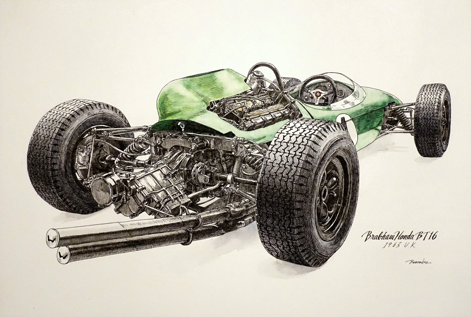 Brabham Honda BT16